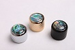 Electric Guitar Metal Dome Knob Abalone BYO-DK-AB