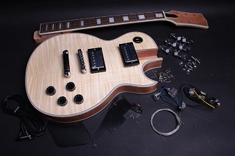 Electric Guitar Kit - LP Custom BYO-LPC