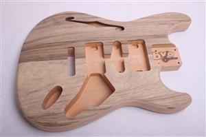 Semi Hollow Strat Body BYO-CS-SH-ST-Body