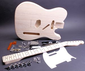 Electric Guitar Kit - Tele - Licensed Fender Body and Neck  BYO-TLFBN