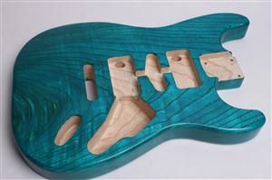 Wudtone Finished Strat Body BYO-CS-ST-Wud