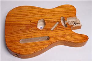 Wudtone Finished Tele Body BYO-CS-T-Wud
