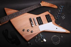 Electric Guitar Kit - Explorer Style BYO-EXP