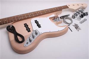 Electric Bass Kit - J Bass BYO-JBass