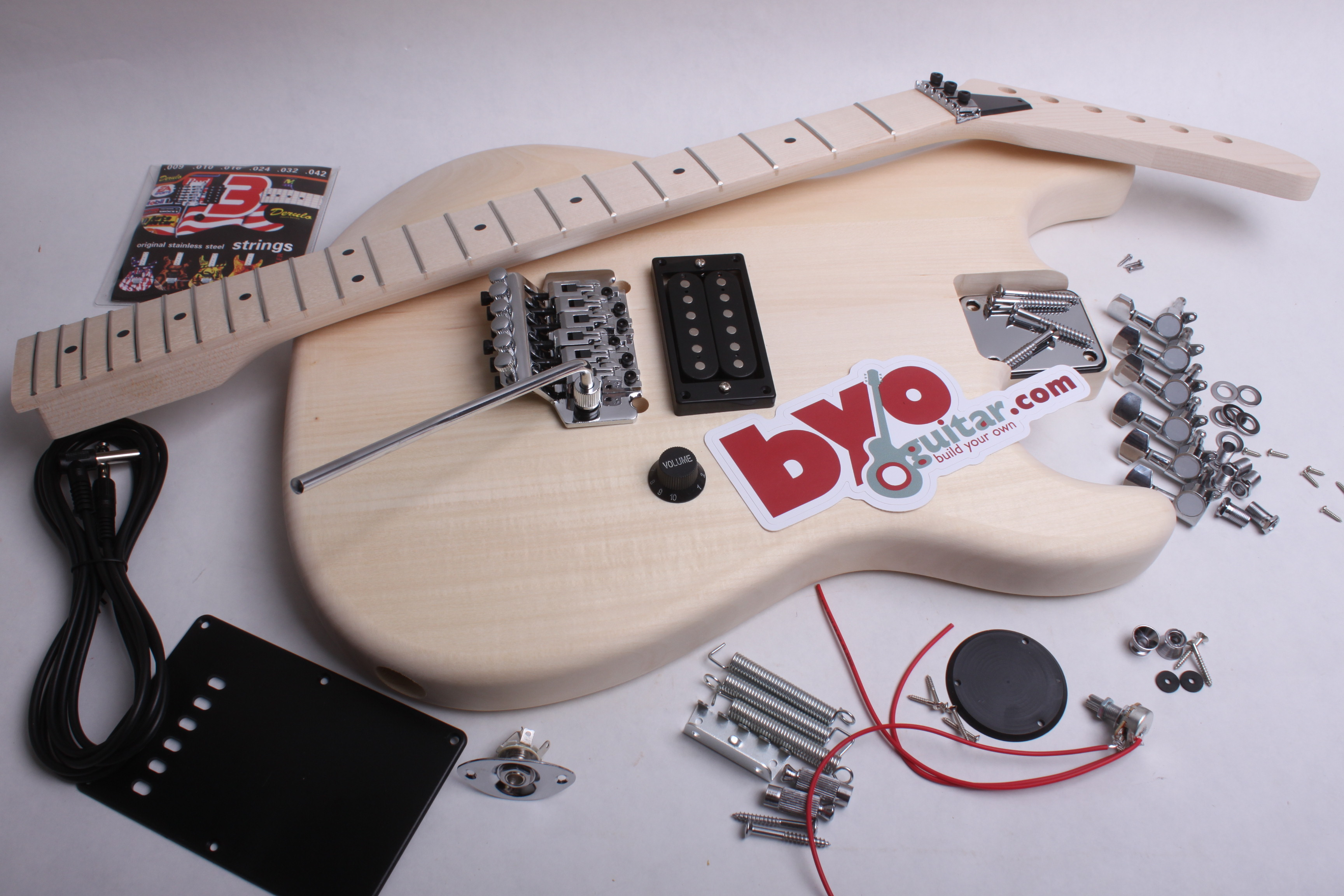 electric guitar kit rg style guitar bodies and kits from byoguitar. Black Bedroom Furniture Sets. Home Design Ideas