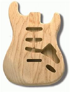 Allparts Strat Body in Ash SBAO
