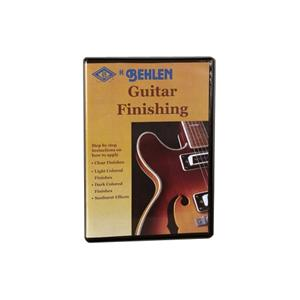 Behlen Guitar Finishing DVD B9000-0050