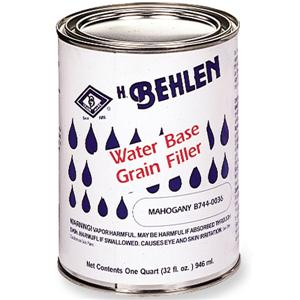Behlen Water-Based Grain Filler, Mahogany, 1 Quart  B744-0036