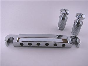 Electric Guitar Stop Tail Piece in Chrome BYO-STC