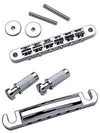 Gotoh BridgeTail Set Nickel  GE101BZ on gibson tremolo