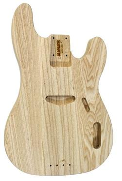 Allparts Ash Replacement Body for Telecaster® Bass® TBBAO