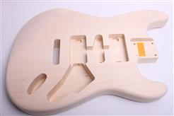 Alder Strat with Knots - Lightweight CLR-ST0004