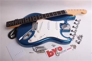 Finished Strat Kit BYO-FS-BL