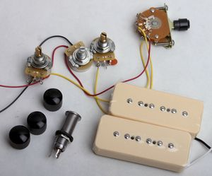 flaxwood p90 wiring kit guitar bodies and kits from byoguitarflaxwood p90 wiring kit