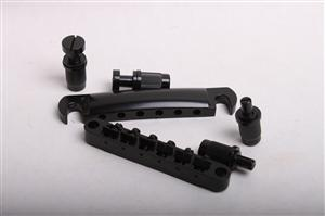 Stop Tail and Tune-o-matic Bridge - Black BYO-STBr-Black