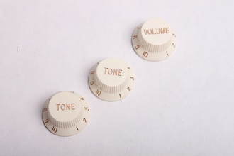 Cream Strat Knobs BYO-ST-Cream