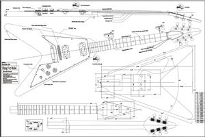 Full Scale 67 Flying V Plan BYOPLAN-67V