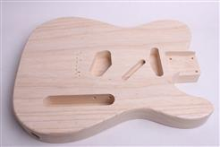 1 Piece Swamp Ash Tele Body - Finished - Light Weight, Wudtone Olympic Girl T003