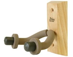 STRING SWING® HARDWOOD HOME AND STUDIO GUITAR HANGER - ASH CC01-A