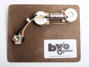 fender precision bass pre wired electronics harness med pbass pre wired harness guitar bodies and kits from byoguitar prewired guitar harness at readyjetset.co
