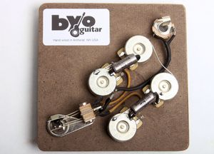 3-Way Tele Pre-wired Harness BYO-T3