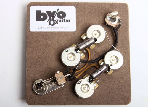 sg pre-wired harness - guitar bodies and kits from byoguitar 3 way toggle switch guitar wiring diagram